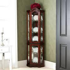storage cabinets ideas glass door corner curio cabinet a modern curio cabinets with glass doors display