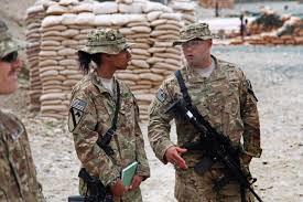 u s department of defense photo essay  u s army chief warrant officer 2 martinez right talks to u s army staff sgt