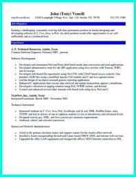 Sample Computer Programmer Resume Computer Programming Job Resume