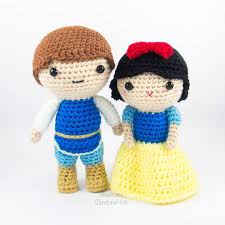 Amigurumi Patterns Free Delectable Snow White And Prince Amigurumi Pattern Snacksies Handicraft