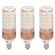 ulight e12 led candelabra bulb 100w halogen bulbs equivalent warm white led bulb 1100lm 360 degree beam angle for ceiling fan lighting chandelier light