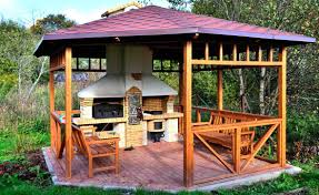 Complete Outdoor Kitchen Amazing Backyard Kitchens Backyard Design Ideas Outdoor Pool And