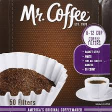 K a parts will be happy to assist with confirming the correct part. Amazon Com Mr Coffee 8 12 Cup Coffee Filters 50 Pack 2 Count 100 Total Filters Home Kitchen
