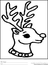 Small Picture Rudolph Coloring Pages Coloring Page
