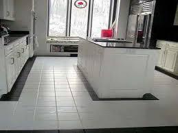 Brilliant White Kitchen Tile Floor Ideas Home Interior Design L For Beautiful