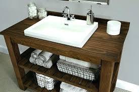 Rustic Modern Bathroom Vanity Rustic Bathroom Cabinets Rustic Modern