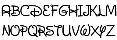 Disney Font Dans Disney Font Download Free Fonts Download