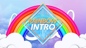 Cute Template Cute Rainbow Intro Template No Text Youtube