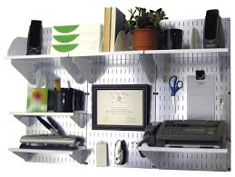 wall mounted office organizer system. Metal Pegboard Office Organizer Wall Mounted System O