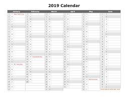 printable 6 month calendar 2019 free download printable calendar 2019 month in a column half a 6