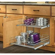 kitchen great necessary slide out drawers wire storage racks kitchen cabinet organizers pull industrial shelving
