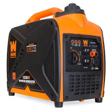 WEN 1250 Watt Gas Powered Inverter Generator CARB pliant i