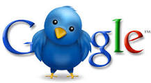 is to ask Google. Twitter