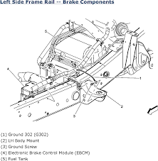 saturn ion l fi dohc cyl repair guides wiring systems left side frame rail brake components 2006