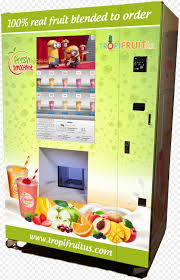 Fruit Vending Machine For Sale Delectable SmoothieMaking Vending Machines TropiFruit