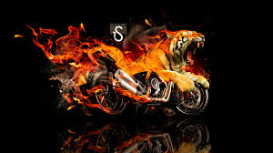 ducati diavel tiger fire fantasy