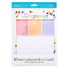 Party Planning Snap In Party Planner Dashboard