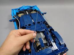 The lego technic bugatti chiron model car building kit can be built together with all lego technic sets and lego bricks for creative construction and extended play. Lego Bugatti Chiron Lighting Kit Installation Instructions Brickstuff