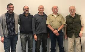 """UMich Ecology and Evolutionary Biology on Twitter: """"CONGRATULATIONS to Doug  Nelson on his well-earned retirement after over 35 years as #UMMZ #Fish  Division collection manager! Priscilla Tucker, Diarmaid Ó Foighil and  @HLopezFernandez"""