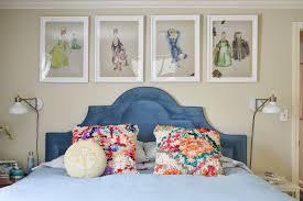 new headboard wall in master bedroom