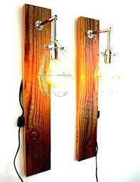 reclaimed wood light fixture barn fixtures rustic wooden handmade lamps created e80