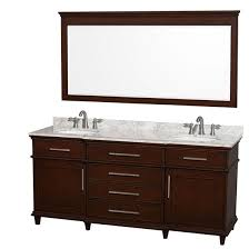 Bathroom Vanity Double Fascinating Wyndham Berkeley Double 48Inch Transitional Bathroom Vanity