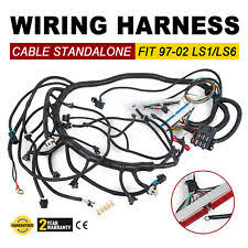 ls1 wiring harness 1997 2002 dbc ls1 standalone wiring harness t56 or non electric trans