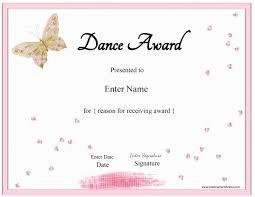 Dance Award Certificate 30 Free Printable Dance Certificates Pryncepality