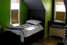 Green And Black Bedroom Home Design Ideas