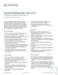 Resume Advice Extraordinary Resume Writing Advice Goalgoodwinmetalsco Resume Advice