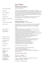 Sales Representative Resume Skills Examples Pic Sales Representative