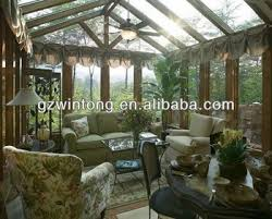 Competitive Price Tempered Glass And Aluminium Frame Sunrooms With