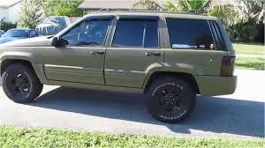 diy line x paint job raptor lined 1996 zj limited 5 2 in od green