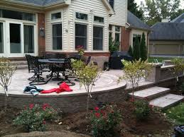raised patios traditionalpatio patio landscaping r36 patio