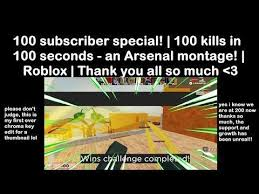 Only 1 broken moment credits to kai for thumbnail credits to the song used track: My First Ever Arsenal Montage I Hope You Enjoy Roblox Arsenal