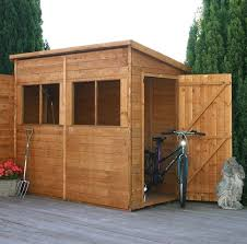 this superb uniquely designed pent shed comes with an array of useful and practical features large styrene glazed windows provide the main focal point on