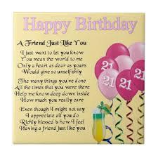 21st Birthday Quotes For Friends. QuotesGram via Relatably.com