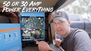 rv inverter setup! how to power it all Camper 30 Amp Rv Wiring Diagram 50A RV Plug Wiring Diagram