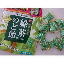 Kẹo trà xanh matcha thông cổ Senjaku 100g Nội địa Nhật Bản