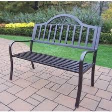 green wrought iron patio furniture. hometown wrought iron bench green patio furniture n
