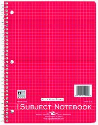 Bender Burkot 4 X 4 Graph Paper Notebook