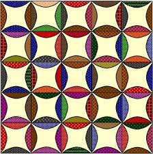 A Little More of Robbing Peter & Of all the quilts…I think I like this last version the best. The black with  the bright colors is stunning… Adamdwight.com