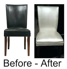 leather spray paint for furniture leather spray paint for furniture the clan painted leather dining chairs