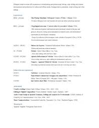 Resume Writers Resume For Study