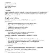 Free Resume Examples For Administrative Assistant Resume Templatexamplesxceptional Free Best Professional 32