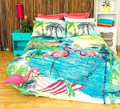 tropical comforter sets king tropical bedding sets king flamingo bedding set perfect for anyone that loves