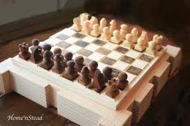 Wooden Othello Board Game ReversiOthello Wooden Handcrafted Beautiful Board Game 40