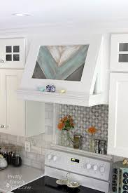 range hood cover. Pretty Handy Girl Has Created A Wonderful Tutorial For Wood Range Hood Cover, And To Tell You The Truth, It Was Just Too Not Share! Cover