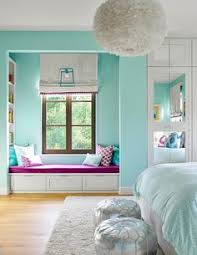 girls bedroom ideas blue. Turquoise Blue Girl\u0027s Bedroom Features A White Feather Chandelier, Eos Pendant, Illuminating Girls Ideas