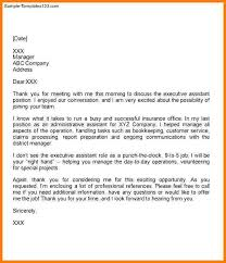Thank You Letter After Interview Template Professional Phone For